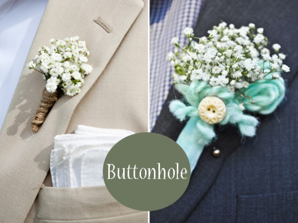 Babys-Breath-Buttonhole